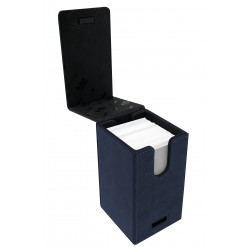 Ultra Pro - Suede Alcove Tower Deck Box - Sapphire