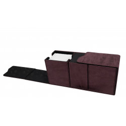 Ultra Pro - Suede Alcove Vault - Ruby