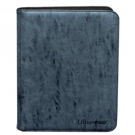 Ultra Pro - Suede Zippered Premium 9-Pocket PRO-Binder - Sapphire
