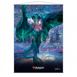 Ultra Pro - Stained Glass Planeswalkers Wall Scroll - Ugin