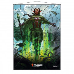 Ultra Pro - Stained Glass Planeswalkers Wall Scroll - Nissa