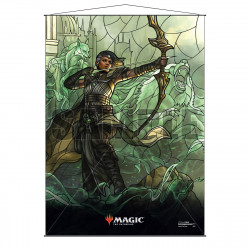 Ultra Pro - Stained Glass Planeswalkers Wall Scroll - Vivien