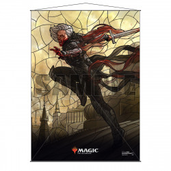 Ultra Pro - Stained Glass Planeswalkers Wall Scroll - Sorin