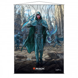 Ultra Pro - Stained Glass Planeswalkers Wall Scroll - Jace