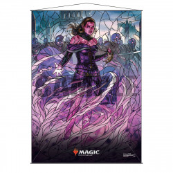 Ultra Pro - Stained Glass Planeswalkers Wall Scroll - Liliana