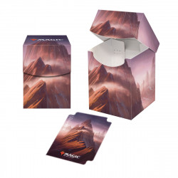 Ultra Pro - Unstable Lands Deck Box - Mountain