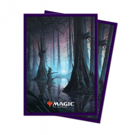 Ultra Pro - Unstable Lands 100 Sleeves - Swamp
