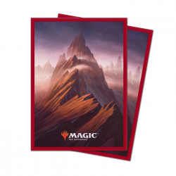 Ultra Pro - Unstable Lands 100 Sleeves - Mountain