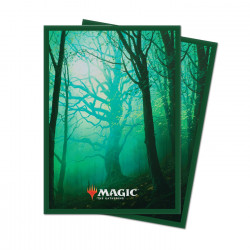 Ultra Pro - Unstable Lands 100 Sleeves - Forest