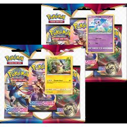 Pokemon - SWSH1 Épée et Bouclier - Tripack Bundle (Morpeko + Ponyta)