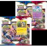 Pokemon - SWSH1 Schwert & Schild - 3-Pack Blister Bundle (Morpeko + Ponyta)