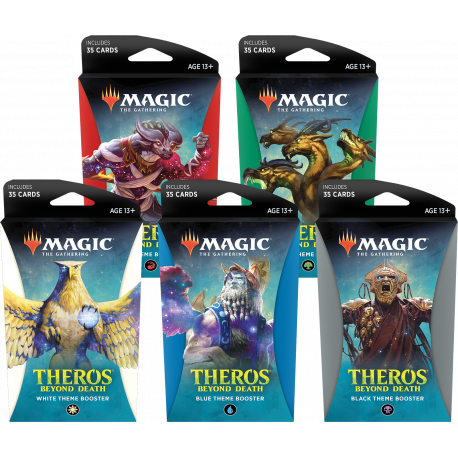 Theros Beyond Death - Theme Boosters Set (5 Boosters)