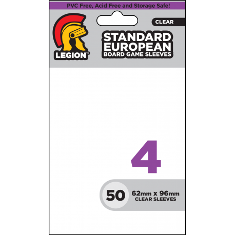 Legion - Board Game Sleeve 4 (50x) - Standard European