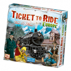 Ticket to Ride - Europe - FR/DE/IT