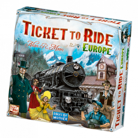 Ticket to Ride - Europe - DE/FR/IT