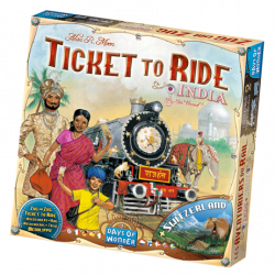 Ticket to Ride - India & Switzerland - EN/DE/FR