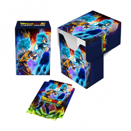 Ultra Pro - Dragon Ball Super Deck Box - Goku, Vegeta, and Broly
