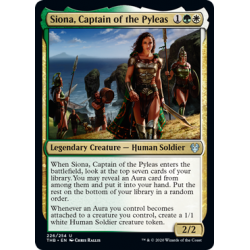 Siona, Captain of the Pyleas