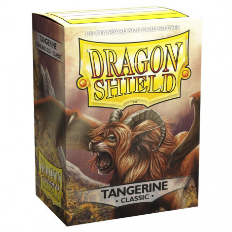 Dragon Shield - Classic 100 Sleeves - Tangerine 'Sol'