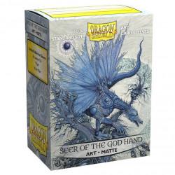 Dragon Shield - Art 100 Sleeves - Seer of the God Hand