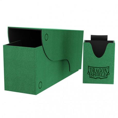 Dragon Shield - Nest+ Deck Box 300 - Green/Black