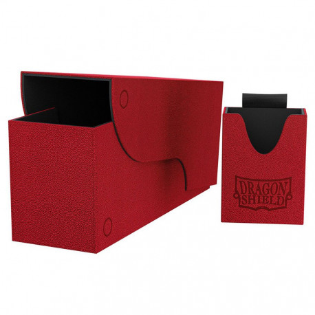 Dragon Shield - Nest+ Deck Box 300 - Red/Black