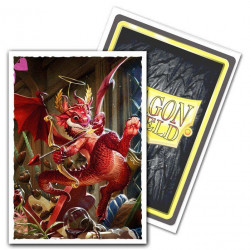Dragon Shield - Art 100 Sleeves - Valentine 2020 Dragon