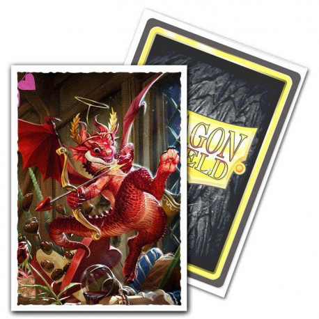 Dragon Shield - Art 100 Sleeves - Valentine 2020 Dragon