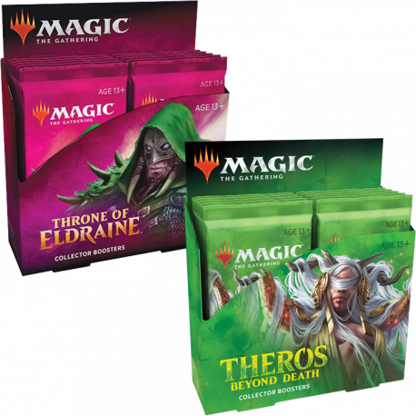 Throne of Eldraine + Theros Beyond Death - Collector Booster Box