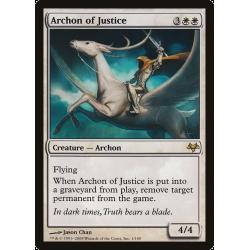 Archonte de la justice - Foil