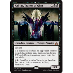 Kalitas, traître des Ghet