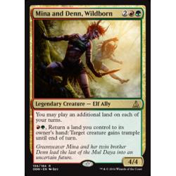 Mina et Denn, nés de la nature