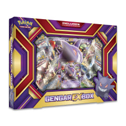 Pokemon - Ectoplasma EX Box