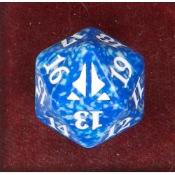 D20 Spindown Die - Oath of the Gatewatch - Blue