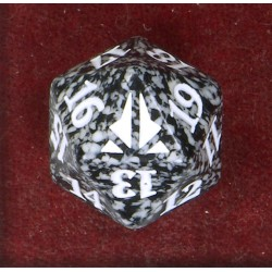 D20 Spindown Die - Oath of the Gatewatch - Black