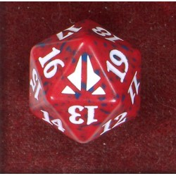 D20 Spindown Die - Oath of the Gatewatch - Red