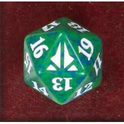D20 Spindown Die - Oath of the Gatewatch - Green