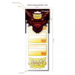 Dragon Shield - Label Pack 1