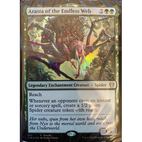 Theros Beyond Death - Land Pack (40x) + Arasta of the Endless Web Promo