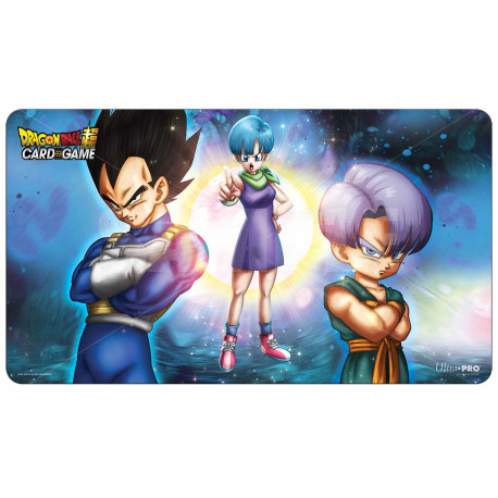 Ultra Pro - Dragon Ball Super Playmat - Bulma, Vegata, and Trunks
