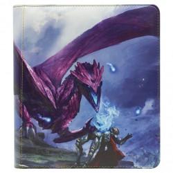 Dragon Shield - Card Codex Zipster Binder Small - Purple 'Amifist'