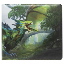 Dragon Shield - Card Codex Zipster Binder XL - Olive 'Lavom'