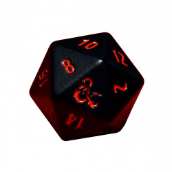Ultra Pro - Heavy Metal D20 Dice - Dungeons & Dragons