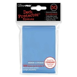 Ultra Pro - Standard Deck Protectors 50ct Sleeves - Light Blue