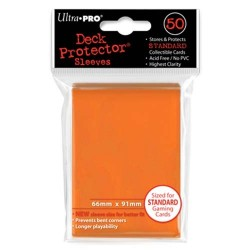 Ultra Pro - Standard 50 Sleeves - Orange