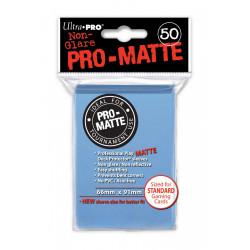 Ultra Pro - Pro-Matte Standard Deck Protectors 50ct Sleeves - Light Blue