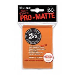 Ultra Pro - Pro-Matte Standard Deck Protectors 50ct Sleeves - Orange