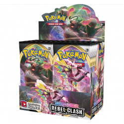 Pokemon - SWSH2 Rebel Clash - Booster Display (36 Boosters)
