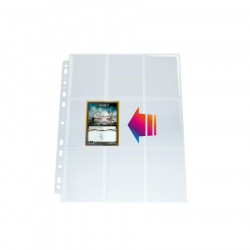 Gamegenic - Ultrasonic 9-Pocket Pages Side-Loading (10x)
