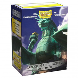Dragon Shield - Art 100 Sleeves - Dragon Liberty